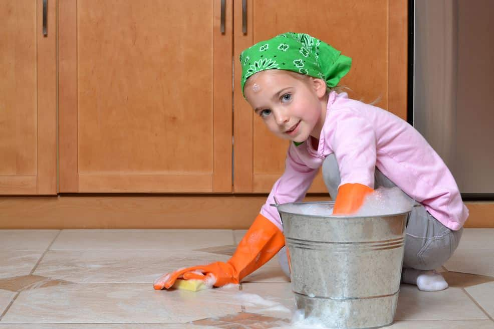 Why Children Need To Scrub Floors Montessori Academy